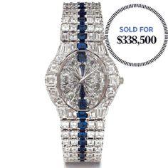 Piaget Rocks a $340,000 Sapphire and Diamond Watch