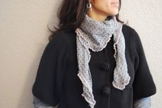 Dia's Days: Square Scarf - How to make one!