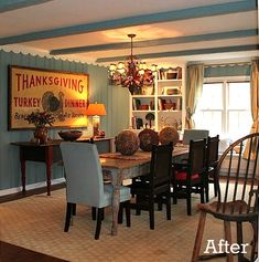 Renita's dining room after remodel carpet dining room take.http://www.carpetcleaners-losangeles.com/