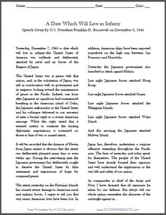 Printables Pearl Harbor Worksheets remembrance day pearl harbor and worksheets on pinterest