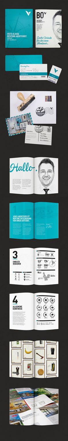 Print Bewerbung, Initiativ Bewerbung