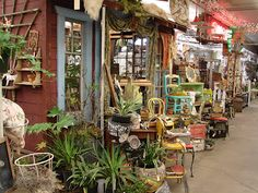 Antique marketplace in Portland, OR