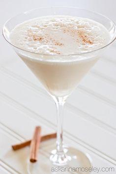 Turtle Dove martini recipe - Ingredients: 2 oz vanilla vodka - 2 oz Frangelico - 1 oz amaretto - 1 1/2 oz whole milk. Shake with ice and serve.