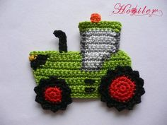 Crochet applique made of cotton yarn washable up to 40 wide approx. 11 cm h Baby Girl Crochet, Crochet Baby Clothes, Crochet Toys, Applique Patterns, Knitting Patterns, Crochet Patterns, Crochet Motif, Crochet Flowers, Knitting Projects