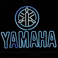 Japan Yamaha Motorcycle Auto Dealer Store Display Beer Bar Real Neon Sign///How I love you neon signs , Real nice for my Home Bar Deco