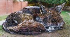 Artist Turns Trash Into Animals To Remind Us About Pollution | Bored Panda