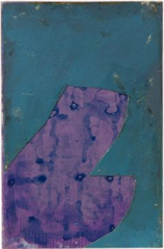 David Quinn. acrylic, ink, marker on paper on mdf. 20x13. 2011
