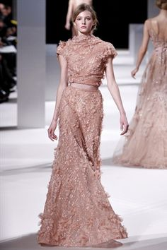 Elie Saab Haute Couture Spring 2011 #rose #gown #dress #fashion #dream