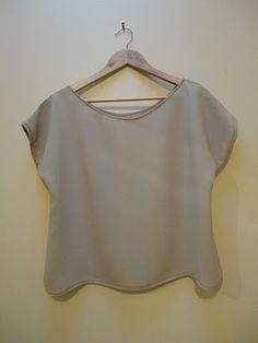 Tutorial: Make a Loose T-Shirt
