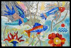 "Mosaic ocean -Maplestone Gallery - ""My Magic Nights"" by Patricia Ormsby"