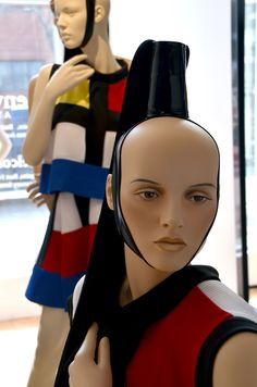 Presented by Gender Mannequins | Mannequins by Genesis Mannequins | Clothing designed by Marie-Laure Larrieu