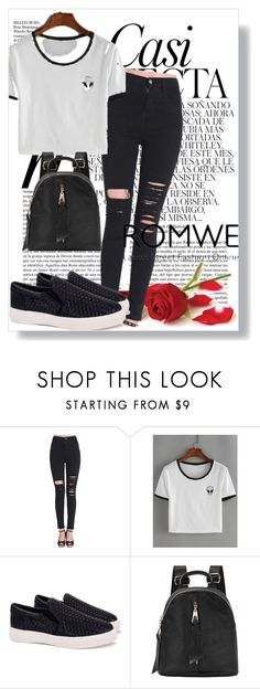 """""""2/5#romwe"""" by fatimka-becirovic ❤ liked on Polyvore featuring Whiteley"""