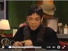 #PRINCE SO SWEET VIDEO https://www.facebook.com/Gigwise/videos/10153297015529295/
