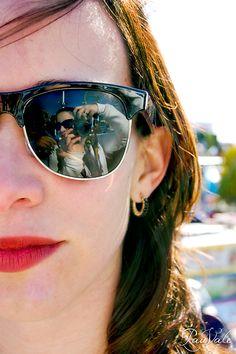 8cddf16f8e59 Alexia and myself sunglasses reflection
