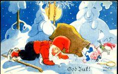 Julekort Otto Mølbach