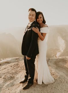 Rochelle and Jeffrey had planned a bigger wedding in San Francisco but changed their plans last minute to a Yosemite elopement at Glacier point. We did their elopement at Glacier point and ended their yosemite elopement at Taft point #yosemiteelopement #yosemiteelopementideas #weddingphotography Elope Wedding, Wedding Ceremony, Taft Point, Glacier Point, Yosemite Wedding, Sunset Photos, Getting Married, San Francisco, Wedding Photography