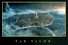 Tar Valon by Gorgaidon.deviantart.com.  Sometimes I dream of being a novice.