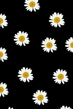 Freebies: 12 wallpapers para o seu celular - My Other Bag Is Chanel Daisy Wallpaper, Wallpaper For Your Phone, Tumblr Wallpaper, Cool Wallpaper, Pattern Wallpaper, Black Wallpaper, Lock Screen Wallpaper, Wallpaper Quotes, Cute Backgrounds