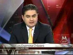 Luis A. Cházaro Entrevista en Milenio TV con Carlos Zúñiga - YouTube