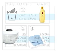 Genius: Dry hand-washed cashmere with a salad spinner.