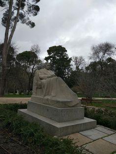 Benito Pérez Galdós. Parque del Retiro