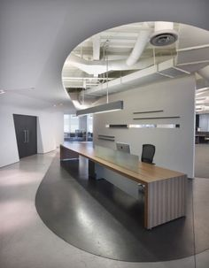 Nice, clean reception/conference table