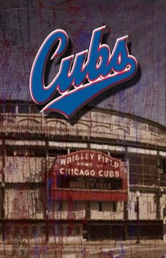 Wrigley Field, Cavaliers Logo, Chicago Cubs, Team Logo, Neon Signs