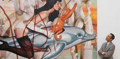 En 2008, ses œuvres exposées à Versailles créaient la polémique. Aujourd'hui, Jeff Koons, artiste vivantle plus cher au monde, fait l'objetd'unegrande rétrospective à Beaubourg.