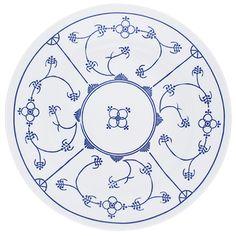 Tradition Speiseteller 23,5 cm Blau Saks