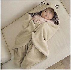 Saco de Dormir Bebê Gatinho