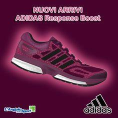 Novità! #Adidas Response Boost. Vieni a provare l'incredibile tecnologia Boost!
