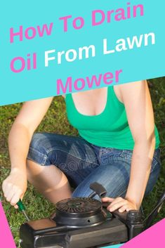 Fix Lawn Mower 799811215057409708 - lawn mower maintenance .lawn mower repair diy is easier than you think.change the oil in your mower. Give it a go you might be surprised how basic it is. Source by petestools Gas Lawn Mower, Lawn Mower Repair, Lawn Mower Maintenance, Riding Mower, Diy Home Repair, Back Gardens, Fix You, Planting Flowers, Modern Design