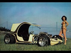 This would be awesome, house the tank in the front and make it vw powered.