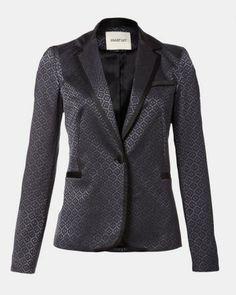 Brocade tuxedo blazer from Smart Set