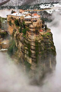 Meteora - Megalo Meteoron (Metamorphosis) Monastery