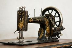 Old sewing machine by MayaLee Photography, via Flickr