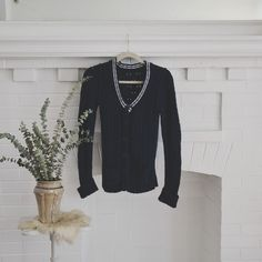 UO/ collegiate cardigan ⱝ navy blue, white accents  ⱝ long, button down cardigan ⱝ school girl, collegiate style ⱝ 100% cotton, chunky knit  ⱝ tags cut off ⱝ small ⱝ excellent used condition   » I NO LONGER LOWER MY PRICES, BUT OFFERS ARE ABSOLUTELY WELCOMED  » UNLESS ITS FOR A BUNDLE, I WILL NOT RESPOND TO OFFERS IN COMMENTS   » I WILL MAKE A NEW LISTING FOR DISCOUNTED SHIPPING Urban Outfitters Sweaters Cardigans