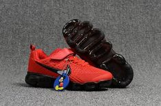 bc6636a73e7 Cheap Nike Air VaporMax 2018 KPU Kids shoes Red Black For Wholesale and Discount  Only Price  52 To Worldwide Free Shipping WhatsApp 8613328373859