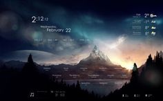 Rainmeter Skins - Serenity by andrew1515 - Customize.org