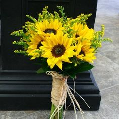 W Flowers product: Sunflowers Wedding Bouquet
