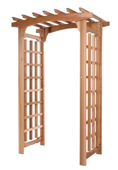 Garden Arbor Pagoda and Patio Trellis by ALL THINGS CEDAR CANADA ...