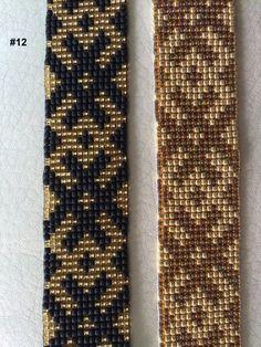 Loom Beaded Bracelet With Faworable Strength And от TuTuStudio Loom Bracelet Patterns, Bead Loom Bracelets, Bead Loom Patterns, Bracelet Crafts, Woven Bracelets, Beaded Jewelry Patterns, Peyote Patterns, Beading Patterns, Inkle Weaving