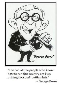 George Burns on Politics