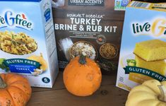Products and recipes for a delicious gluten-free Thanksgiving! Gluten Free Thanksgiving, Turkey Brine, Pumpkin, Vegetables, Recipes, Food, Products, Gourmet, Pumpkins