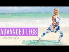 Advanced Legs Workout - 10 MINUTE SLIMDOWN   Rebecca Louise - YouTube