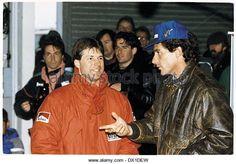 Michael Andretti & Ayrton Senna