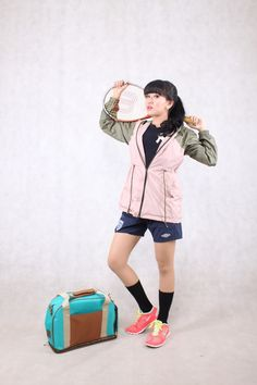 Get in-style with DUVERA Dusty Pink-Army Jacket DPW05 (IDR 265k) and Tosca Bag DB02E for IDR 380k. Grab yours now!