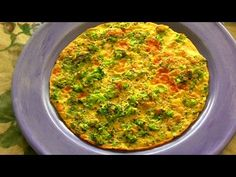 Broccoli & Flax Seed Omelet with Oats ★ Perfect, Healthy Breakfast - Fitappy.com - YouTube