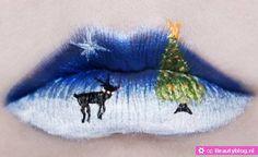 Like it or not Rudolph het rendier lippen