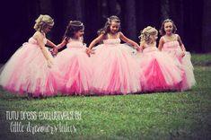 Rose Princess Tutu Dress Reversible por littledreamersinc en Etsy